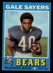 1971 Topps #150  Gale Sayers  Front Thumbnail