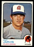 1973 Topps #192  Pat Jarvis  Front Thumbnail