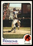 1973 Topps #231  Bill Parsons  Front Thumbnail