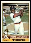 1976 Topps #61  Ron LeFlore  Front Thumbnail