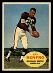 1960 Topps #26  Ray Renfro  Front Thumbnail
