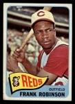 1965 Topps #120  Frank Robinson  Front Thumbnail