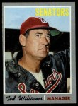 1970 Topps #211  Ted Williams  Front Thumbnail