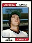 1974 Topps #512  Joe Lahoud  Front Thumbnail