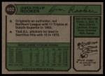 1974 Topps #402  Jim Rooker  Back Thumbnail