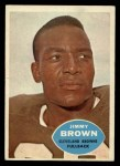 1960 Topps #23  Jim Brown  Front Thumbnail