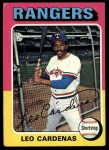 1975 Topps #518  Leo 'Chico' Cardenas  Front Thumbnail