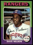 1975 Topps #435  Dave Nelson  Front Thumbnail