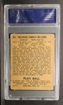1940 Play Ball #27  Ted Williams  Back Thumbnail