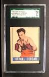 1948 Leaf #42  Marcel Cerdan  Front Thumbnail