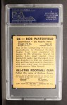 1948 Leaf #26 BN Bob Waterfield  Back Thumbnail