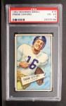 1952 Bowman Small #16  Frank Gifford  Front Thumbnail