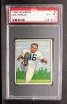 1950 Bowman #6  Lou Groza  Front Thumbnail