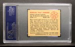 1950 Bowman #93  Marlin Harder  Back Thumbnail