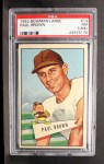 1952 Bowman Large #14  Paul Brown  Front Thumbnail