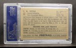 1952 Bowman Large #17  Y.A. Tittle  Back Thumbnail