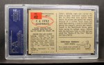 1954 Bowman #42  Y.A. Tittle  Back Thumbnail