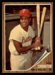 1962 Topps #157 GRN Wes Covington  Front Thumbnail