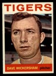 1964 Topps #181  Dave Wickersham  Front Thumbnail