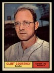 1961 Topps #342  Clint Courtney  Front Thumbnail