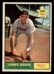 1961 Topps #71  Jerry Adair  Front Thumbnail