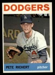 1964 Topps #51  Pete Richert  Front Thumbnail