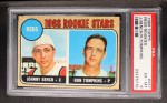 1968 Topps #247 ^COR^  -  Johnny Bench / Ron Tompkins Reds Rookies  Front Thumbnail