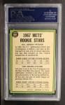1967 Topps #581   -  Bill Denehy / Tom Seaver Mets Rookies Back Thumbnail