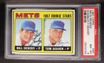 1967 Topps #581   -  Bill Denehy / Tom Seaver Mets Rookies Front Thumbnail