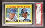 1967 Topps #569   -  Hank Allen / Rod Carew AL Rookies Front Thumbnail