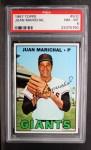 1967 Topps #500  Juan Marichal  Front Thumbnail