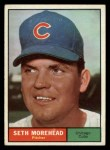 1961 Topps #107 CUT Seth Moorehead  Front Thumbnail