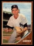1962 Topps #338  Billy Gardner  Front Thumbnail