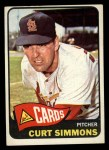 1965 Topps #373  Curt Simmons  Front Thumbnail