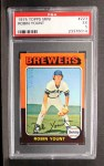 1975 Topps Mini #223  Robin Yount  Front Thumbnail