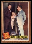 1962 Topps #136 A  -  Babe Ruth Babe Joins Yanks Front Thumbnail