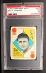 1951 Topps Blue Back #21  Billy Johnson      Front Thumbnail