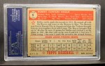 1952 Topps #9 RED Bobby Hogue  Back Thumbnail