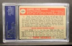 1952 Topps #324  Warren Hacker  Back Thumbnail