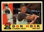 1960 Topps #373  Don Hoak  Front Thumbnail