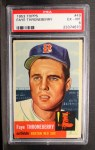 1953 Topps #49  Faye Throneberry  Front Thumbnail