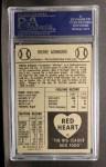 1954 Red Heart #1  Richie Ashburn  Back Thumbnail