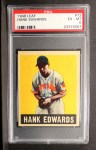 1949 Leaf #72  Hank Edwards  Front Thumbnail