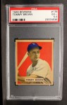 1949 Bowman #178  Tom Brown  Front Thumbnail