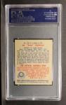 1949 Bowman #156  Al Zarilla  Back Thumbnail