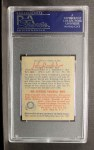 1949 Bowman #128  Johnny Vander Meer  Back Thumbnail