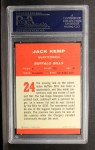 1963 Fleer #24  Jack Kemp  Back Thumbnail