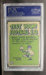 1972 Topps #338   -  Steve Spurrier Pro Action Back Thumbnail