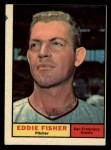 1961 Topps #366  Eddie Fisher  Front Thumbnail