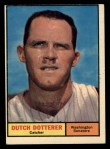 1961 Topps #332  Dutch Dotterer  Front Thumbnail